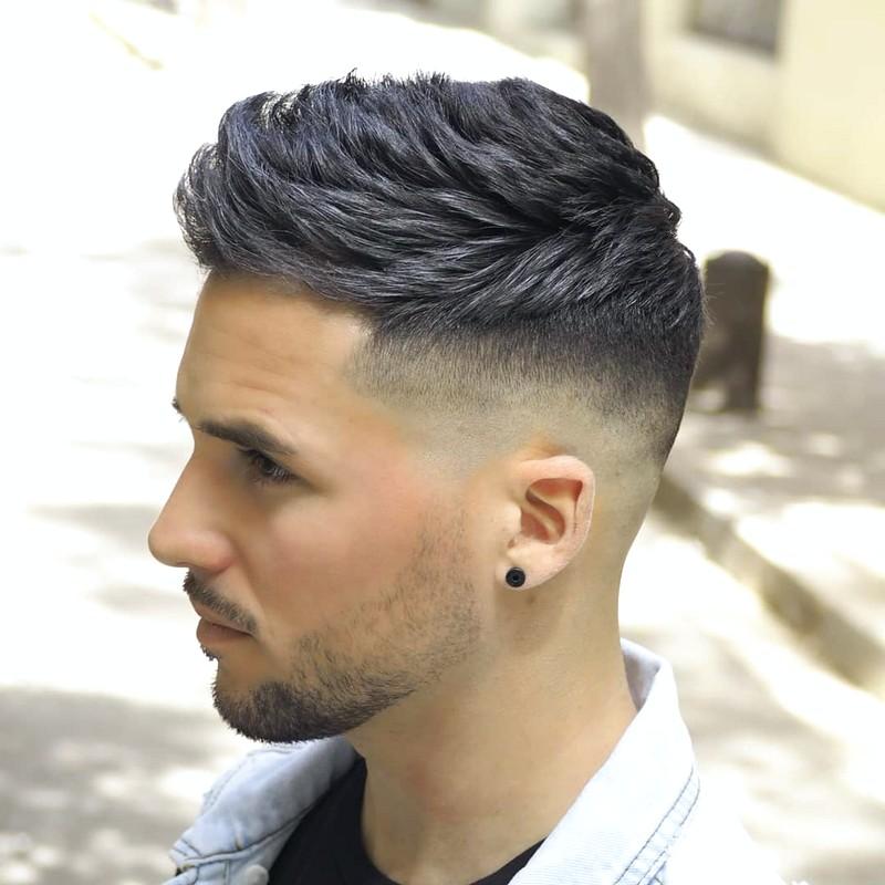 Short-Undercut-Fade-Mens-Haircut Short Undercut Fade Mens Haircut