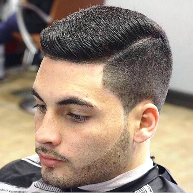 Side-Cut-MenS-Hairstyle Side Cut Men'S Hairstyle