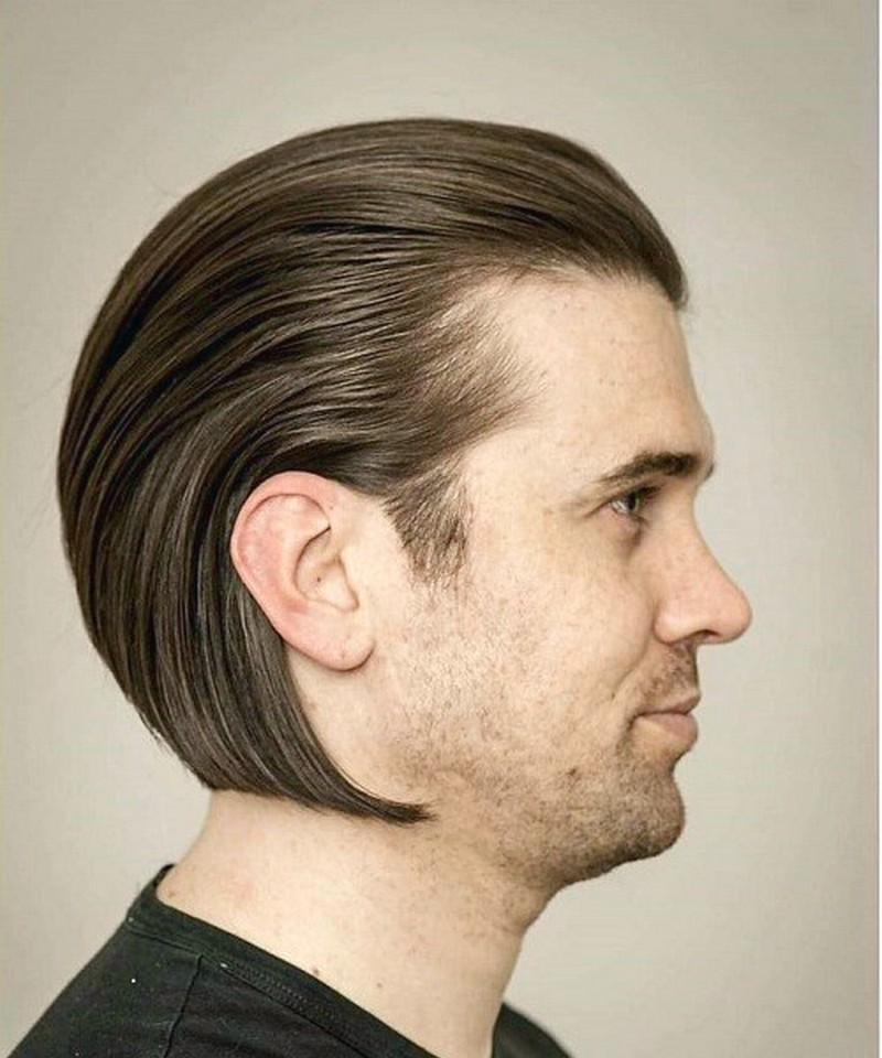 Slick-Back-MenS-Hairstyle Slick Back Men'S Hairstyle