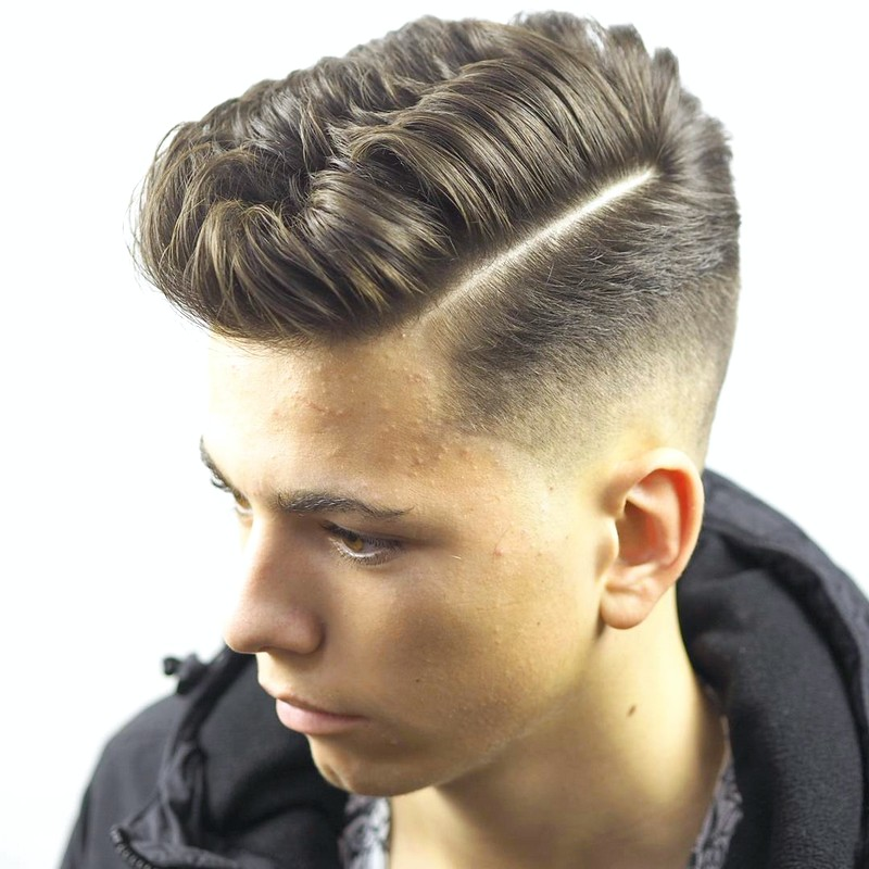 Soft-Side-Part-MenS-Hairstyle Soft Side Part Men'S Hairstyle