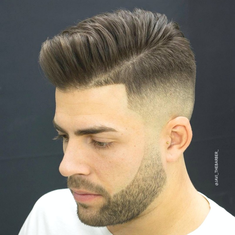 The-Fade-MenS-Hairstyle The Fade Men'S Hairstyle