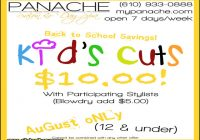 Back To School Haircut Specials 1