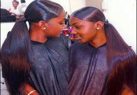 Black Hair Weave Ponytail Hairstyles 8