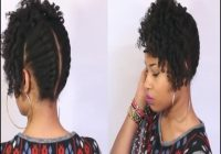 Black Natural Hairstyles For Medium Length Hair 1