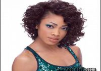 Black Short Curly Weave Hairstyles 1