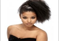 Drawstring Ponytail Hairstyles For Black Hair 13