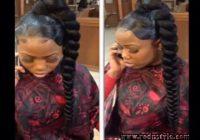 Hairstyles With Jumbo Braiding Hair 2