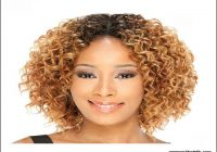 Short Jerry Curl Weave Hairstyles 1
