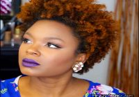 Short Natural Hairstyles With Color 10