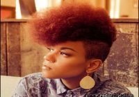 Short Natural Hairstyles With Color 9