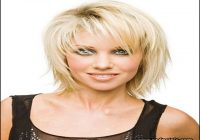 Short To Medium Hairstyles With Bangs 8
