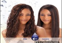 Wet And Wavy Weave Hairstyles 13