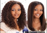 Wet And Wavy Weave Hairstyles 4
